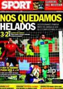 Portada diario Sport del 12 de Febrero de 2012