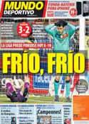 Portada Mundo Deportivo del 12 de Febrero de 2012