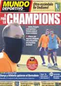 Portada Mundo Deportivo del 13 de Febrero de 2012