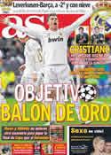 Portada diario AS del 14 de Febrero de 2012