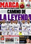 Portada diario Marca del 14 de Febrero de 2012
