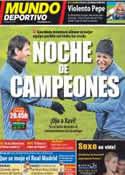 Portada Mundo Deportivo del 14 de Febrero de 2012