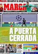 Portada diario Marca del 15 de Febrero de 2012