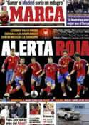 Portada diario Marca del 16 de Febrero de 2012