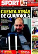 Portada diario Sport del 16 de Febrero de 2012