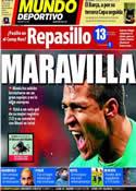 Portada Mundo Deportivo del 16 de Febrero de 2012