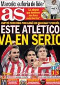 Portada diario AS del 17 de Febrero de 2012