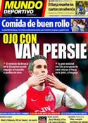 Portada Mundo Deportivo del 17 de Febrero de 2012