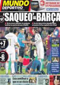 Portada Mundo Deportivo del 18 de Febrero de 2012