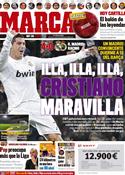 Portada diario Marca del 19 de Febrero de 2012