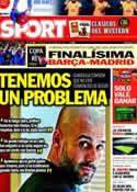 Portada diario Sport del 19 de Febrero de 2012