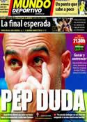 Portada Mundo Deportivo del 19 de Febrero de 2012