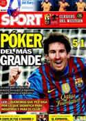 Portada diario Sport del 20 de Febrero de 2012