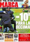 Portada diario Marca del 21 de Febrero de 2012