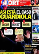 Portada diario Sport del 21 de Febrero de 2012