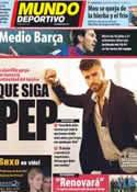Portada Mundo Deportivo del 21 de Febrero de 2012