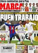 Portada diario Marca del 22 de Febrero de 2012