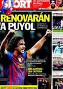 Portada diario Sport del 22 de Febrero de 2012