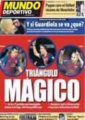 Portada Mundo Deportivo del 22 de Febrero de 2012