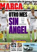 Portada diario Marca del 23 de Febrero de 2012