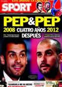 Portada diario Sport del 23 de Febrero de 2012