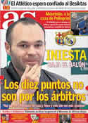 Portada diario AS del 24 de Febrero de 2012