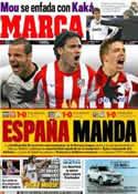 Portada diario Marca del 24 de Febrero de 2012