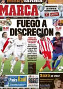 Portada diario Marca del 26 de Febrero de 2012