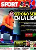 Portada diario Sport del 26 de Febrero de 2012