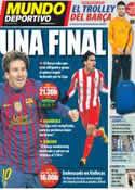 Portada Mundo Deportivo del 26 de Febrero de 2012