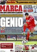 Portada diario Marca del 27 de Febrero de 2012