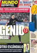 Portada Mundo Deportivo del 27 de Febrero de 2012