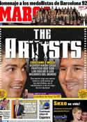 Portada diario Marca del 28 de Febrero de 2012
