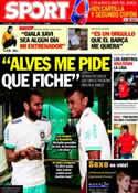 Portada diario Sport del 28 de Febrero de 2012