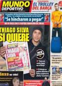 Portada Mundo Deportivo del 28 de Febrero de 2012