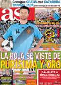 Portada diario AS del 29 de Febrero de 2012