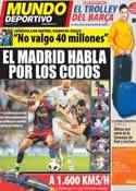 Portada Mundo Deportivo del 29 de Febrero de 2012