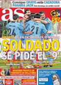 Portada diario AS del 1 de Marzo de 2012