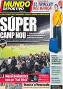 Portada Mundo Deportivo del 1 de Marzo de 2012