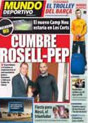 Portada Mundo Deportivo del 2 de Marzo de 2012