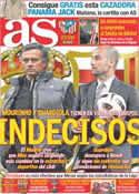 Portada diario AS del 3 de Marzo de 2012