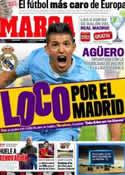 Portada diario Marca del 3 de Marzo de 2012