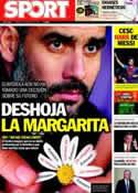 Portada diario Sport del 3 de Marzo de 2012