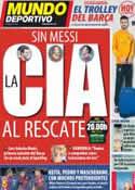 Portada Mundo Deportivo del 3 de Marzo de 2012