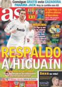 Portada diario AS del 4 de Marzo de 2012
