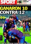 Portada diario Sport del 4 de Marzo de 2012
