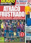 Portada Mundo Deportivo del 4 de Marzo de 2012