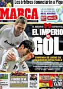 Portada diario Marca del 5 de Marzo de 2012