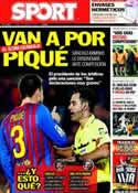 Portada diario Sport del 5 de Marzo de 2012