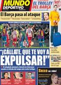 Portada Mundo Deportivo del 6 de Marzo de 2012